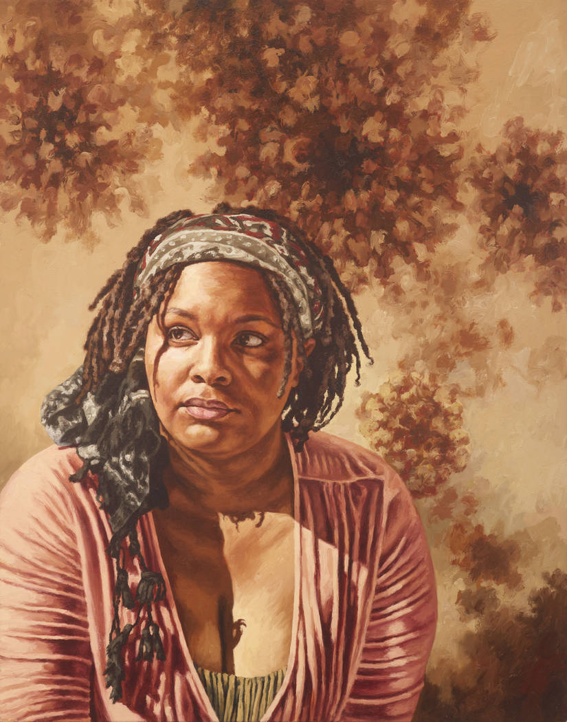 """""""Louise,"""" by Virginia Derryberry, will be on display at CSN's Artspace Gallery."""