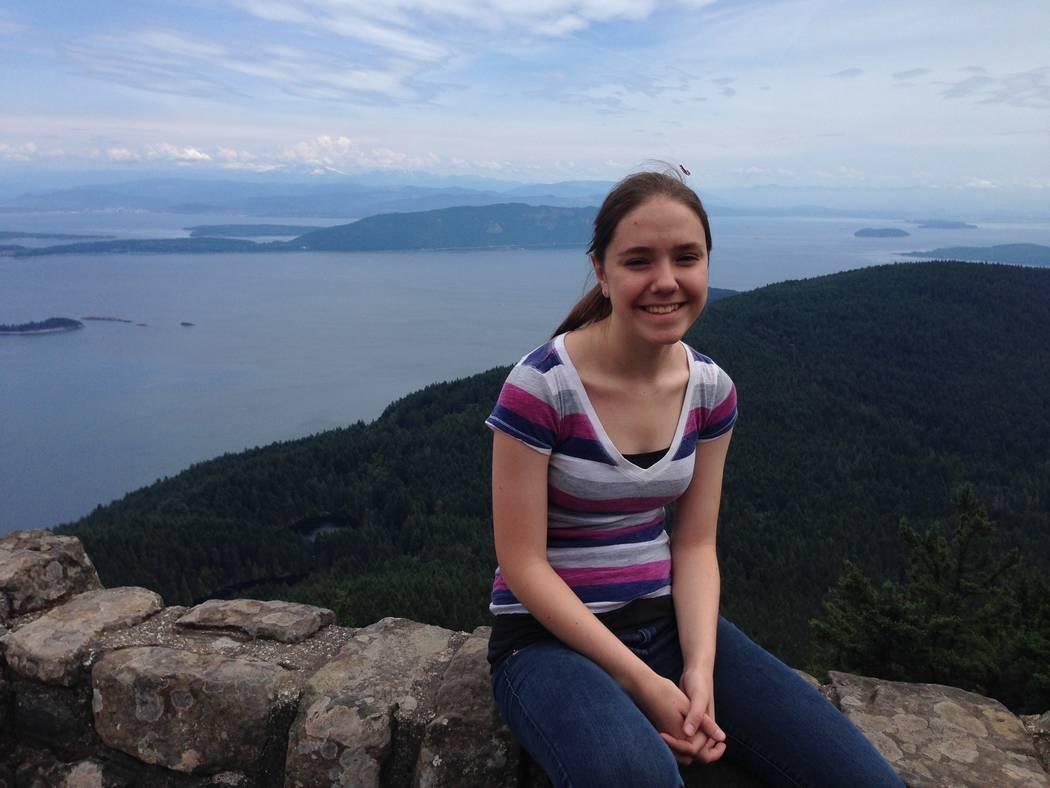 Paula Davis during a summer 2015 camping trip on Orcas Island off the coast of Washington state ...