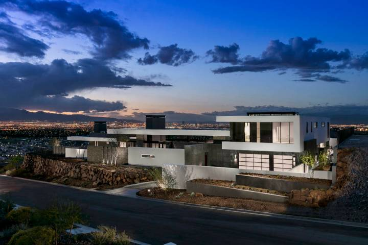 The inspirational home at 13 Cloud Chaser Blvd. is listed for $5.1 million. (Ascaya)