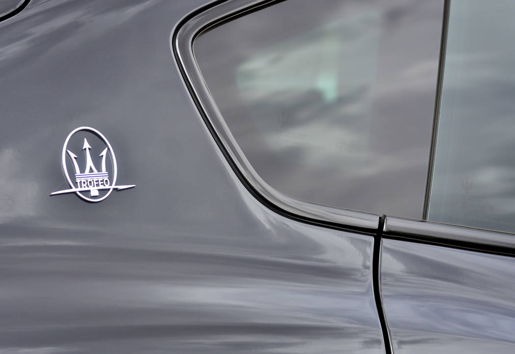 A 2019 Maserati Levante Trofeo is shown during the Robb Report Dream Machines Driving Experienc ...