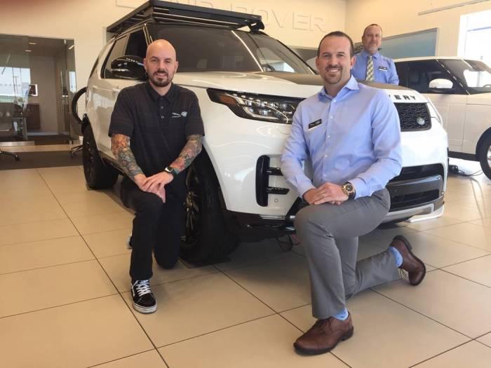 Range Rover Las Vegas >> Jaguar Land Rover Las Vegas To Participate Off Road Event