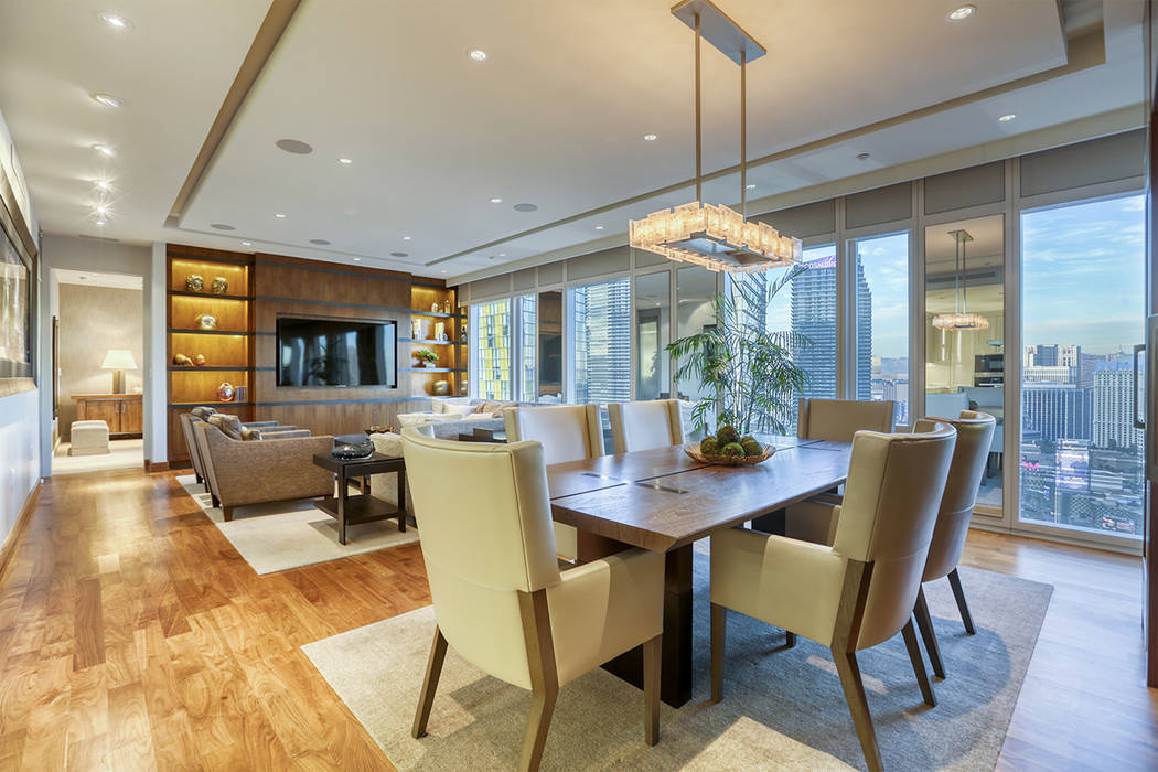 The No. 1 high-rise sale in mid-2019 is a Waldorf penthouse is on the 46th floor. (Luxury Estat ...