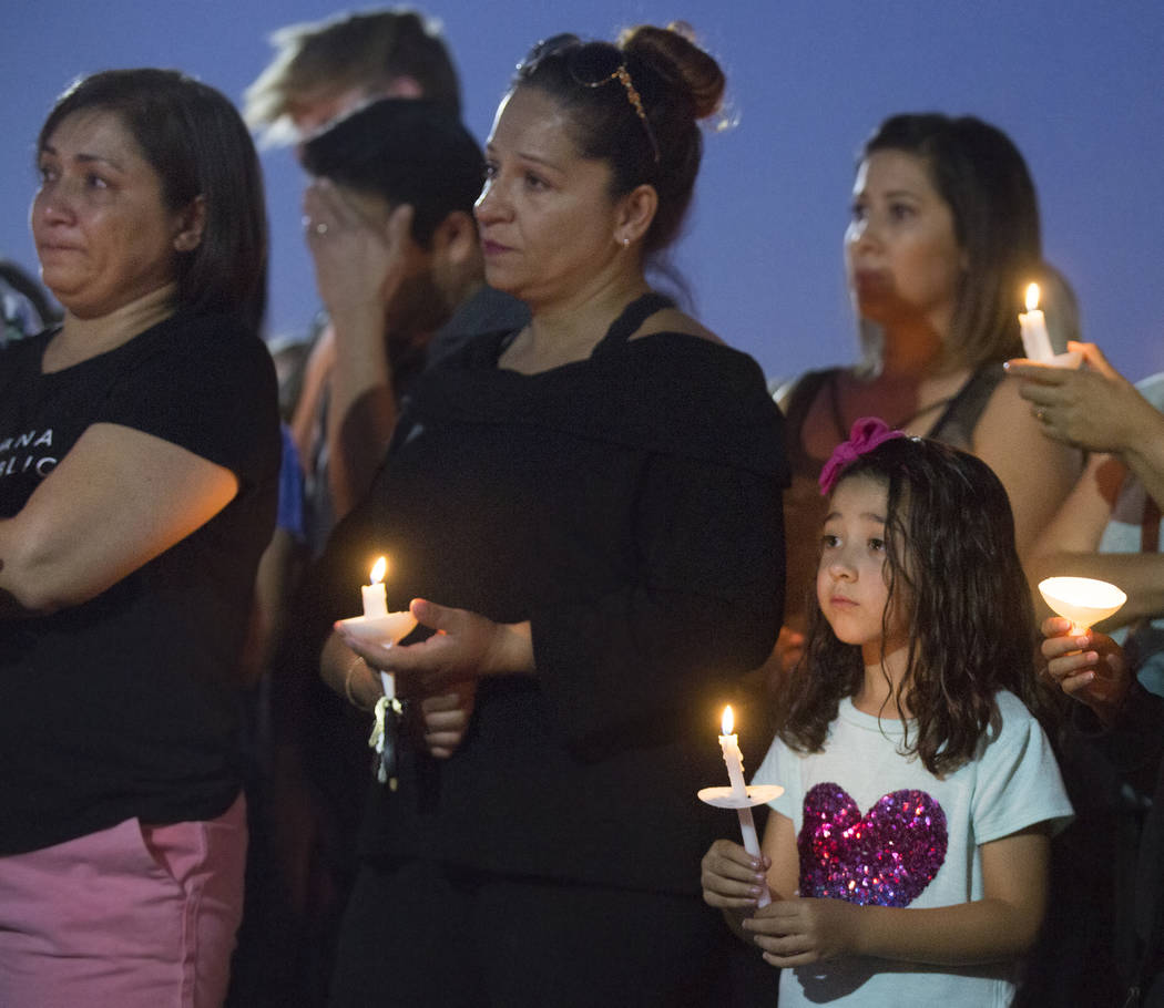 Friends and family mourn the loss of Paula Davis, the 19-year-old UNLV student who was found de ...