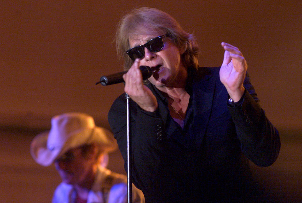 Eddie Money performs during Grandstand Under the Stars at the Diamond Jo Casino in Dubuque, Iow ...