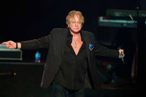 Eddie Money performs at the Hard Rock Hotel and Casino's the Joint in Catoosa, Okla., Nov 16, 2 ...