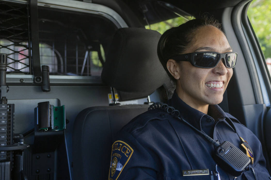 Sgt. Toni Summerlin on duty as the first officer to facilitate the merge between the regional a ...
