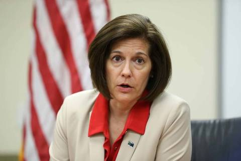 U.S. Sen. Catherine Cortez-Masto, D-Nev. (Erik Verduzco/Las Vegas Review-Journal)