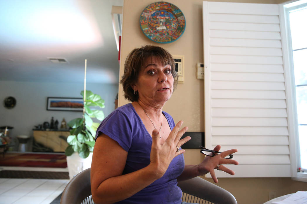 Donna Botti talks about a rehab center that opened in her residential community on Bahama Bay C ...