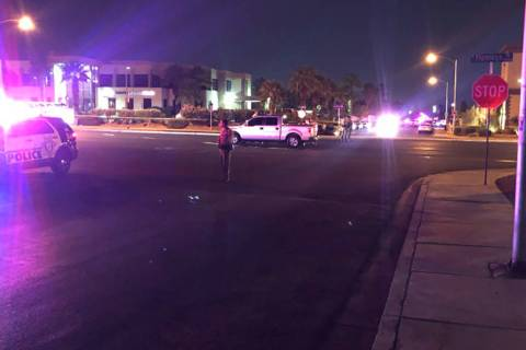 At least two people died in a crash on Friday, Sept. 13, 2019, at Flamingo Road and Duneville S ...