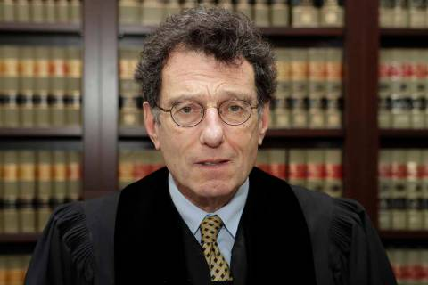 This Jan. 11, 2018 file photo shows Judge Dan Polster in his office, in Cleveland. Attorneys r ...