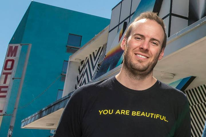 Justin Weniger, CEO of Life is Beautiful (Las Vegas Review-Journal)
