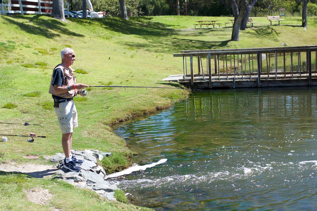 John McCarthy fishing in an undated picture. McCarthy's step-daughter, Katie Seelie, identified ...