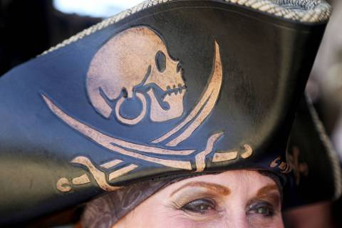 Dress like a pirate and order a sandwich from Ike's Love & Sandwiches. (Rachel Aston/Las Vegas ...