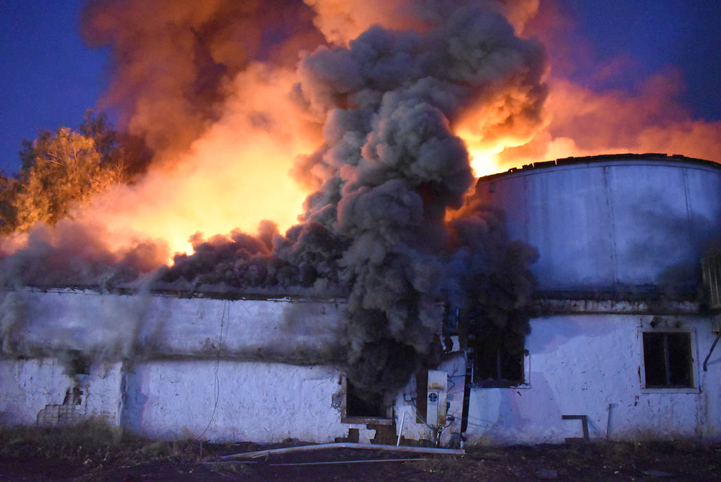 Once fire crews accessed the 700 East Wilson Road property, they observed a second structure we ...