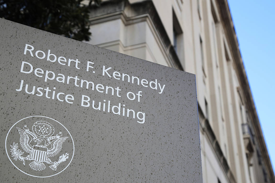 U.S. Department of Justice (AP Photo/Manuel Balce Ceneta, File)