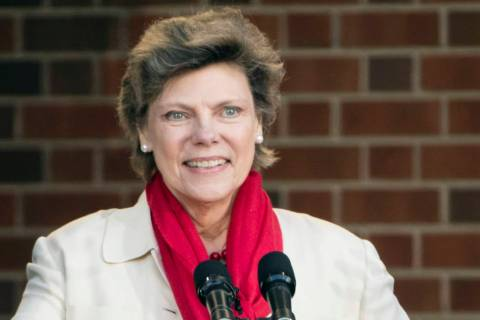 Cokie Roberts speaks during the opening ceremony for Museum of the American Revolution in Phila ...