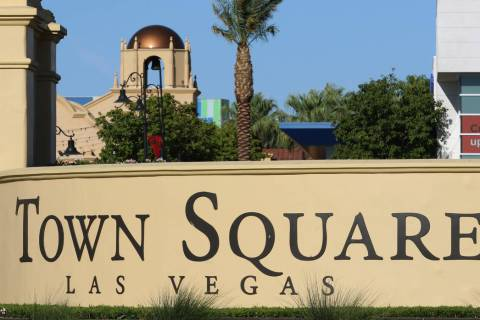 An office-space owner at Town Square Las Vegas, seen on Tuesday, Sept. 17, 2019, confirmed that ...