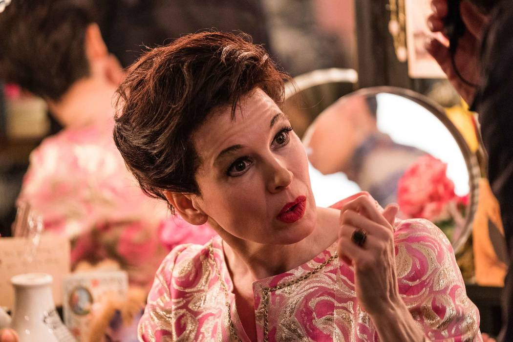 Renée Zellweger as Judy Garland in the upcoming film JUDY. (David Hindley/LD Entertainment and ...