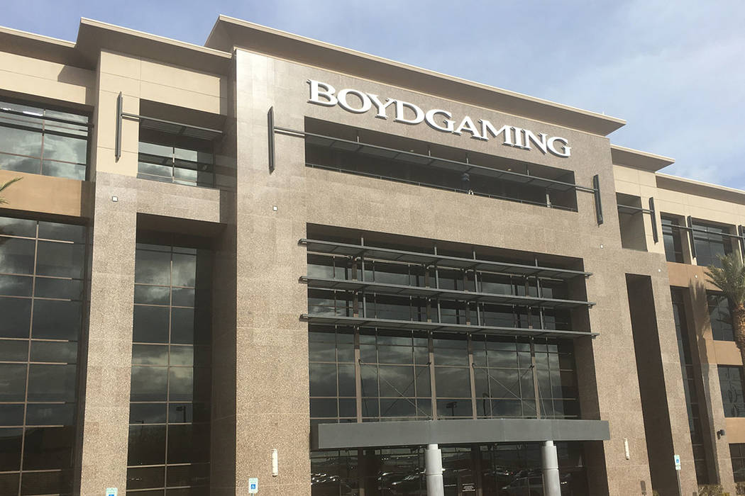 Boyd Gaming Corp. (Eli Segall/Las Vegas Review-Journal)