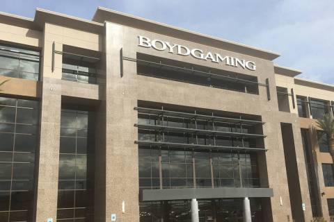 Boyd Gaming Corp. (Eli Segall/Las Vegas Review-Journal)