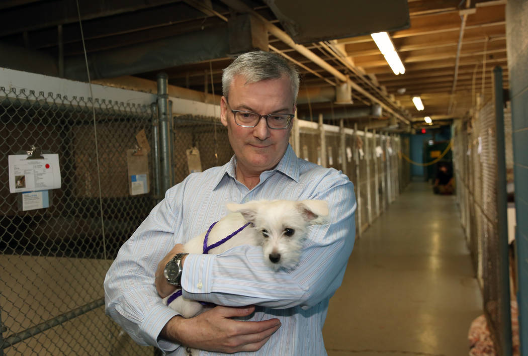Thomas Moran, president of the board of the Nevada Society for the Prevention of Cruelty to Ani ...