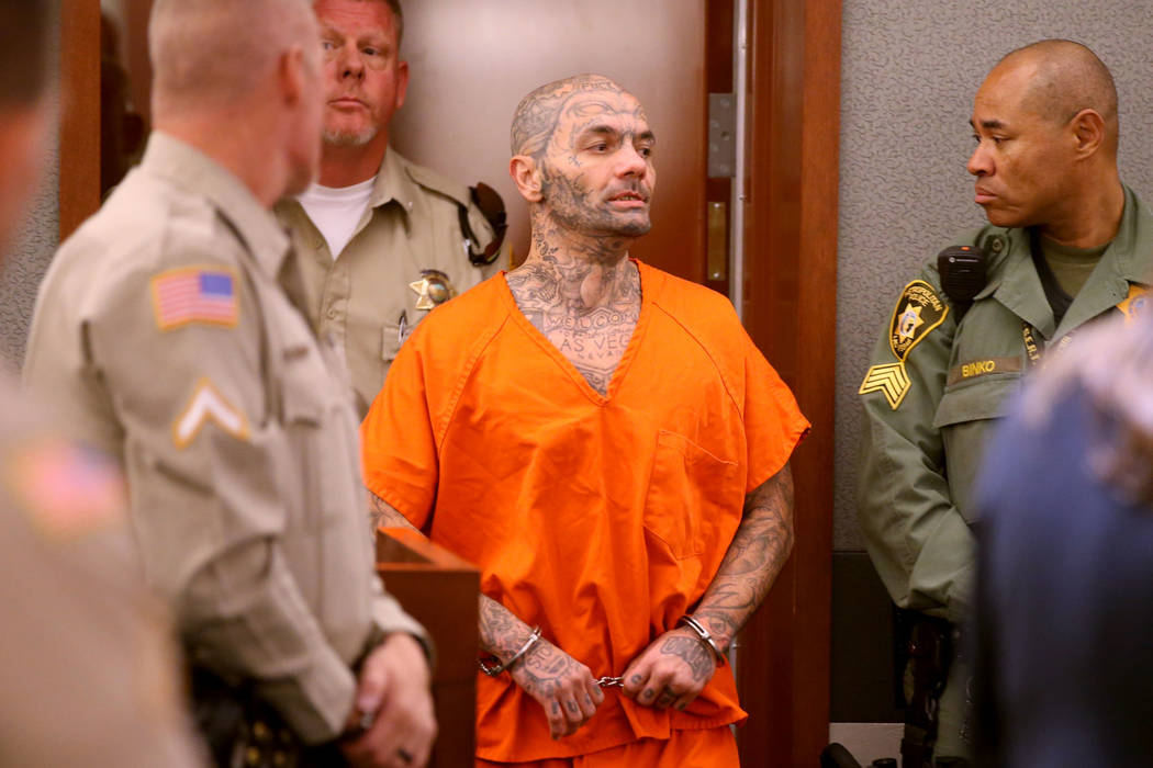 Anthony Williams, 36, appears in court at the Regional Justice Center in Las Vegas on Wednesday ...