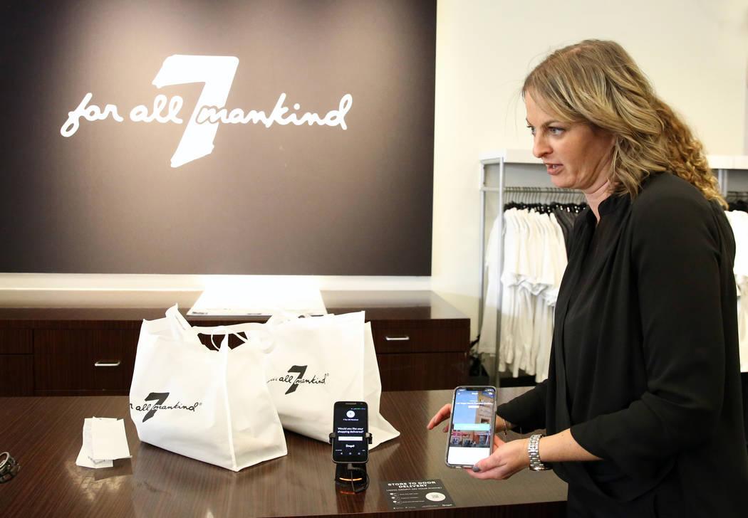Dropit Service Expands In Las Vegas Letting Patrons Shop Bag Free Las Vegas Review Journal