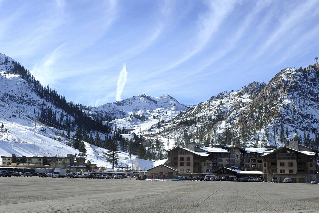 FILE - This Dec. 16, 2011 file photo shows the base village at Squaw Valley in Olympic Valley, ...