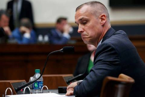 Corey Lewandowski, former campaign manager for President Donald Trump, testifies to the House J ...