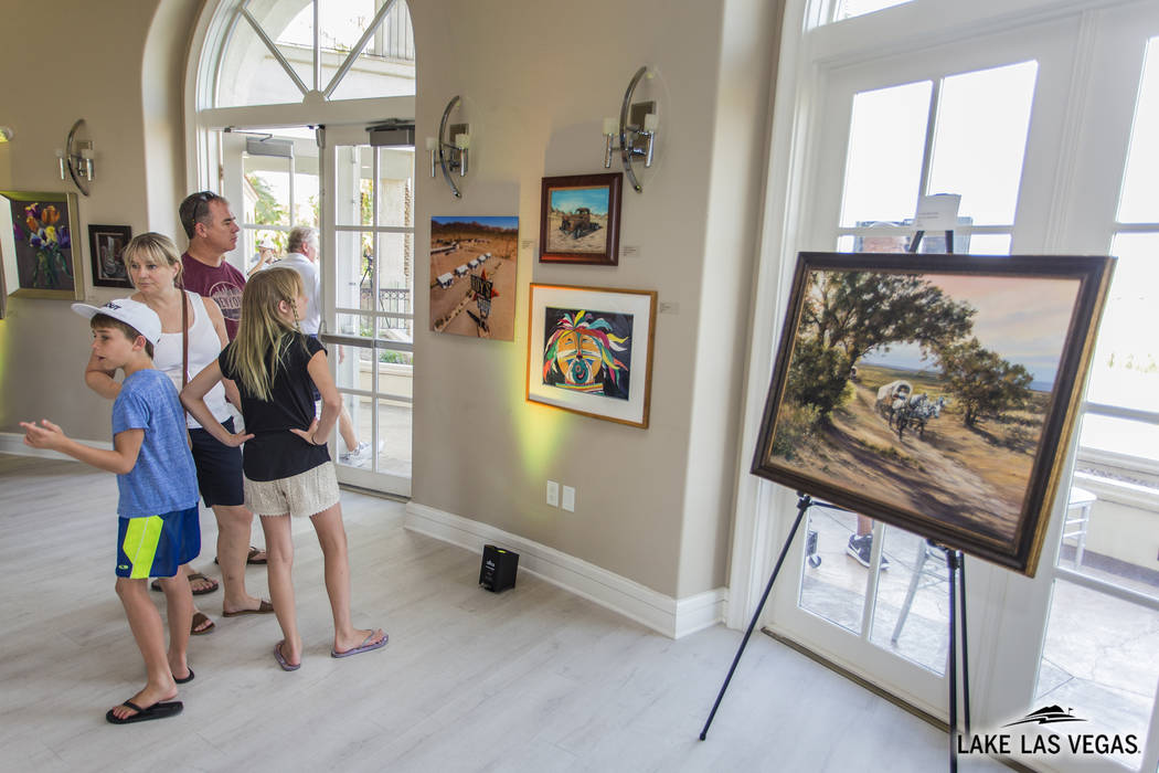 A local artist showcase will be held at Lake Las Vegas. (Lake Las Vegas)