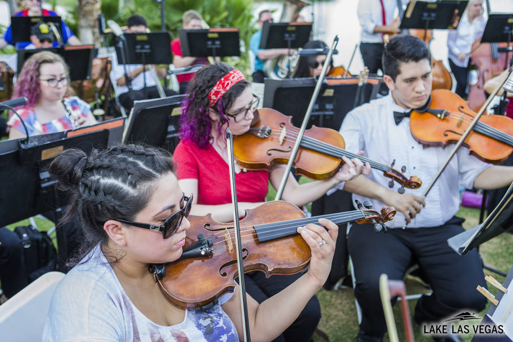 The annual Sunset Symphony celebration Sept. 28 at 5 p.m. at Lake Las Vegas Sports Club kicks o ...
