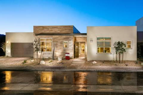 The Indulge floor plan is featured in Trilogy in Summerlin, an age-qualified community. (Trilog ...