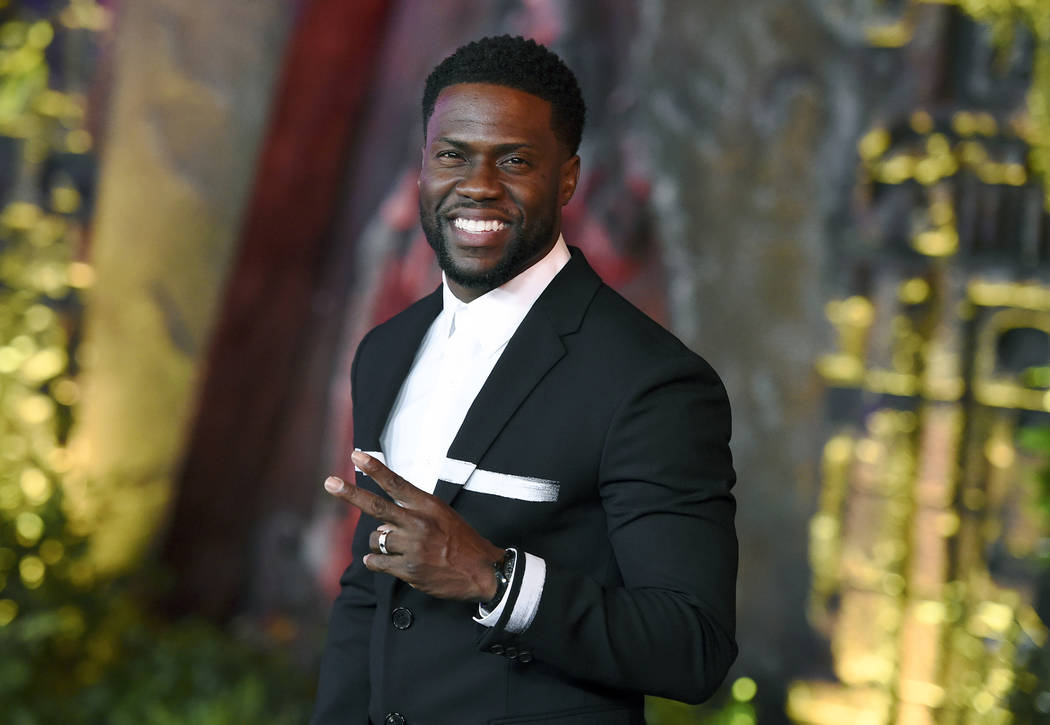 """Kevin Hart arrives at the Los Angeles premiere of """"Jumanji: Welcome to the Jungle"""" in Los Angel ..."""