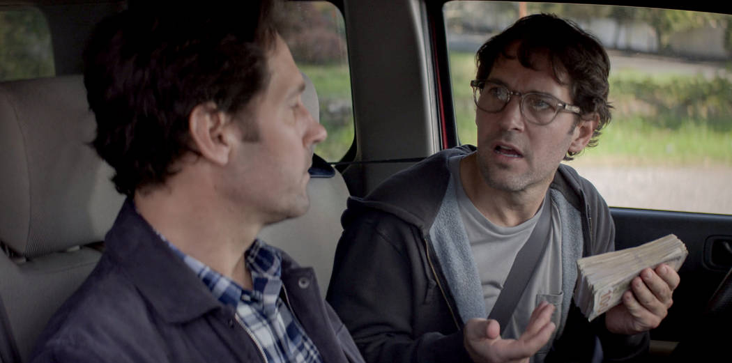 "Paul Rudd and Paul Rudd star in ""Living With Yourself."" (Netflix)"