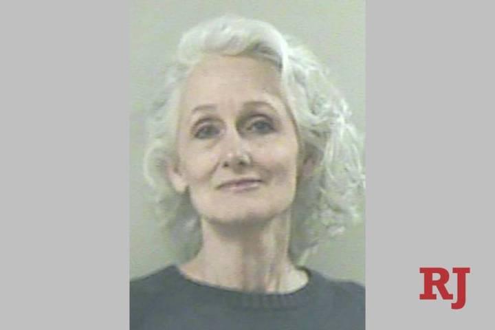 Margaret Rudin, convicted of killing her millionaire husband in one of Las Vegas' most celebr ...