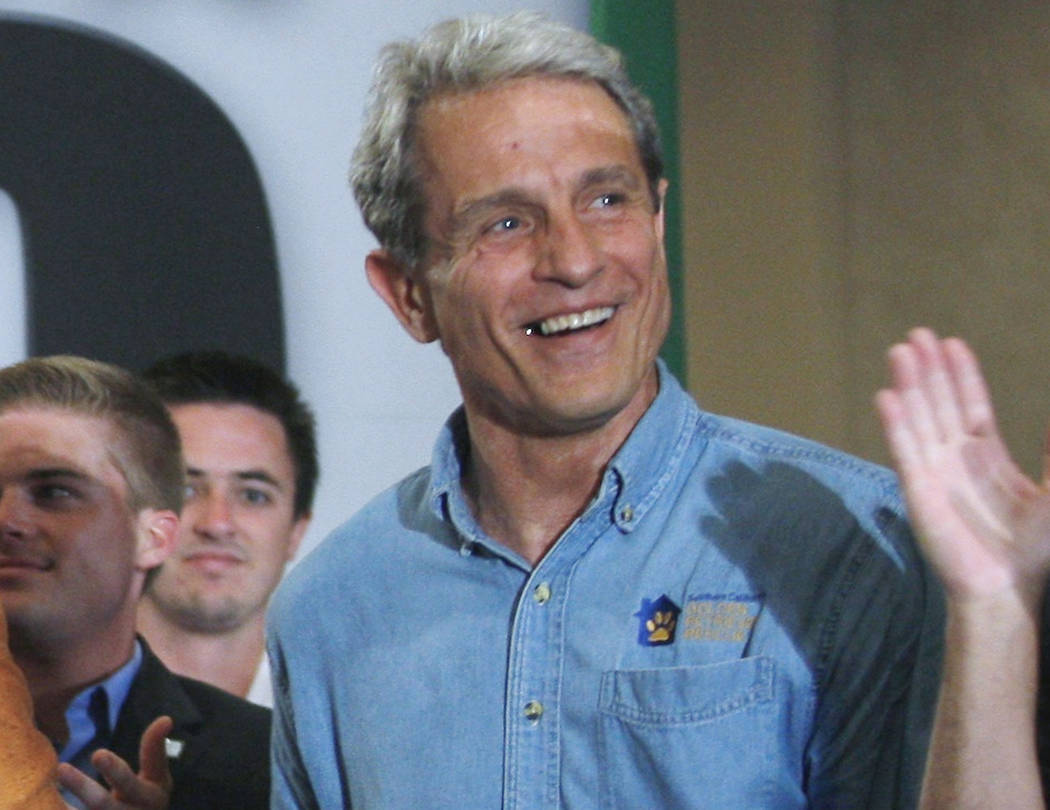 FILE - In this Sept. 22, 2010 file photo Ed Buck makes a campaign appearance for Meg Whitman, n ...