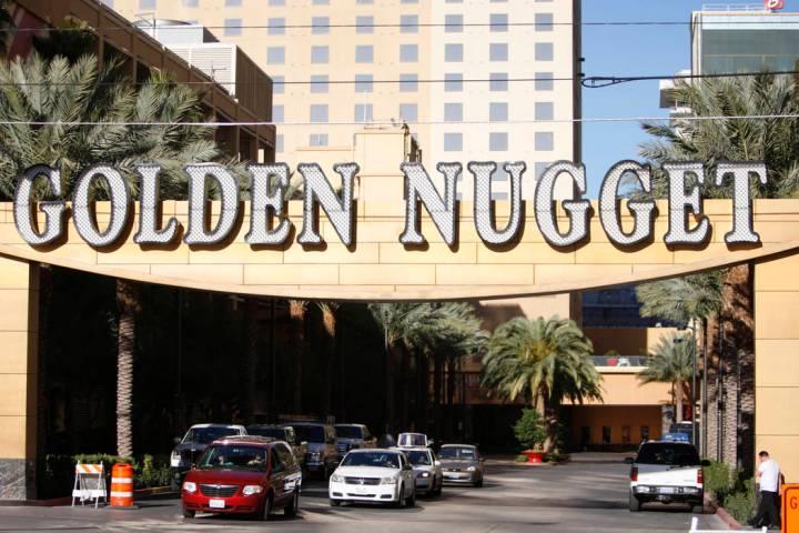 The Golden Nugget casino-hotel in Las Vegas (Erik Verduzco/Las Vegas Review-Journal)