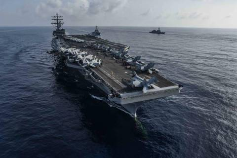 (USS Ronald Reagan/Facebook)