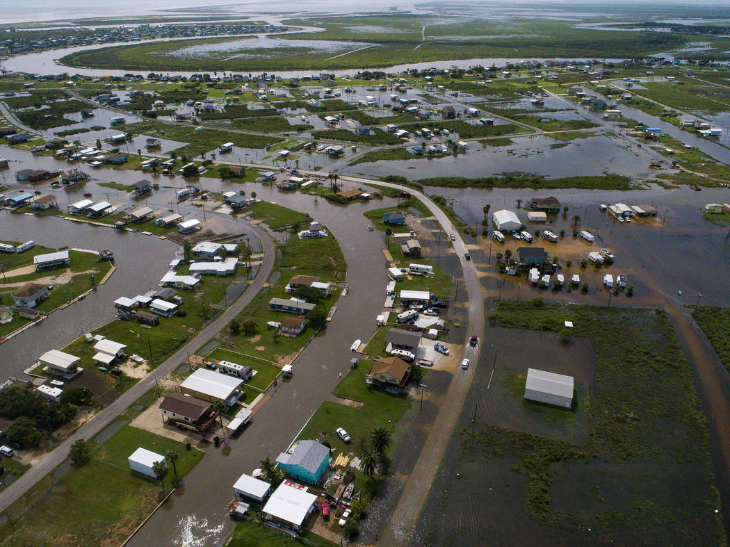 According to Matagorda County Constable Bill Orton, Sargent received 22 inches of rain since Im ...