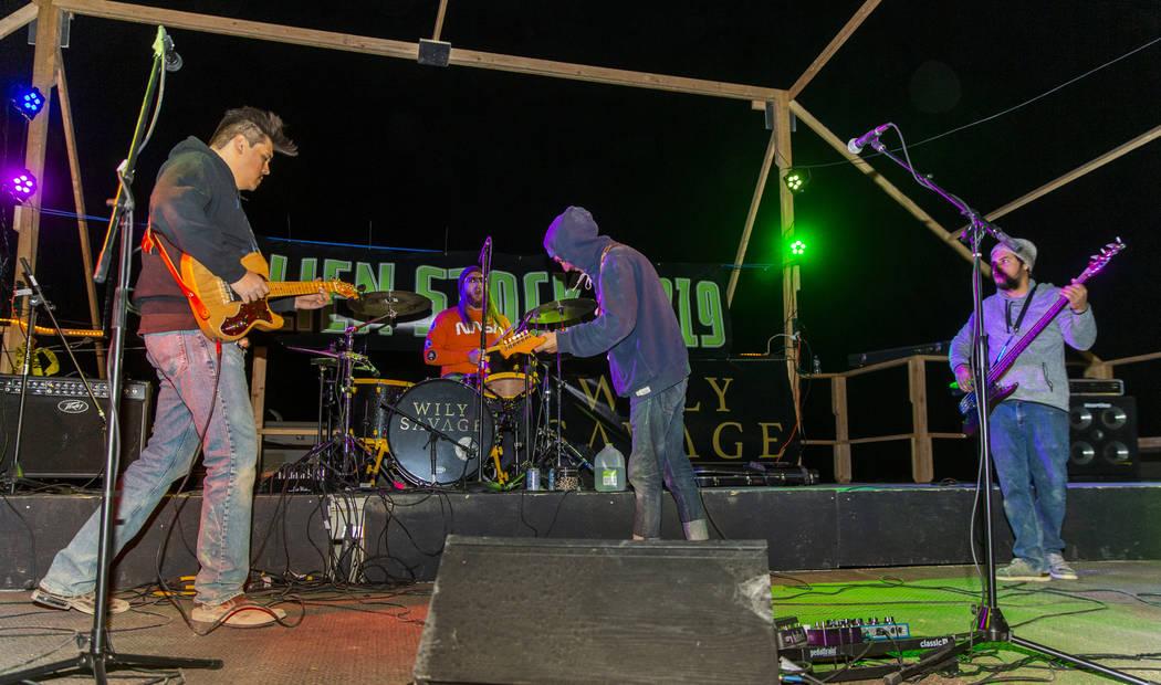 Will Shamberger and Wily Savageopen the Alienstock festival on Thursday, Sept. 19, 2019 i ...