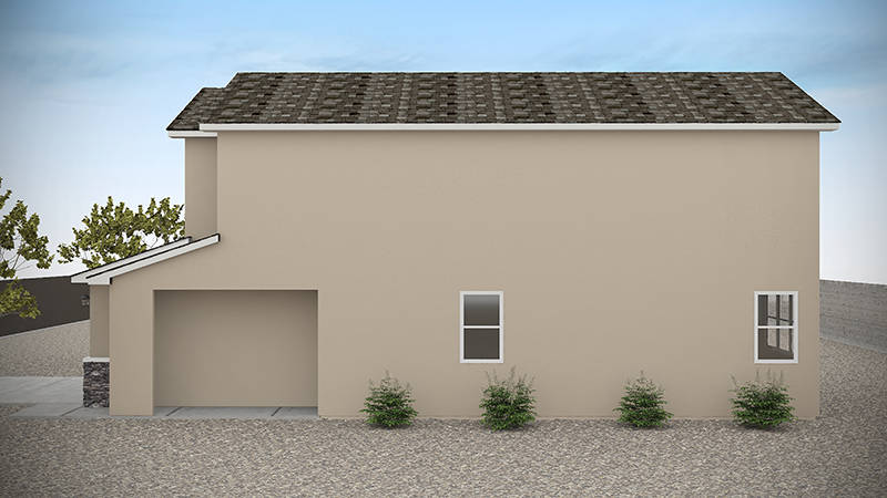 American Homes 4 Rent is building Serene Park near Blue Diamond Road and Fort Apache Road. (Ame ...