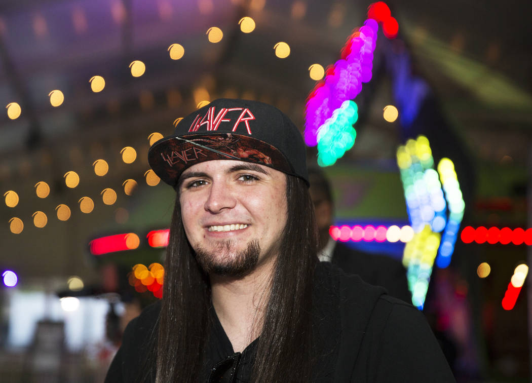 Storm Area 51 founder Matty Roberts at the Area 51 Celebration on Thursday, Sept. 19, 2019, at ...