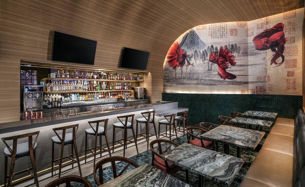 The Bar at Tim Ho Wan at the Palms. (Clint Jenkins)