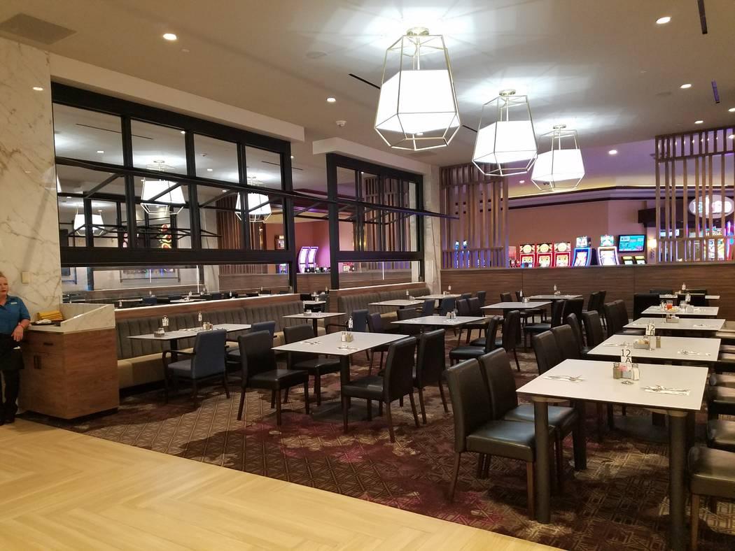 Dining area at Market Place Buffet (Heidi Knapp Rinella/Las Vegas Review-Journal)