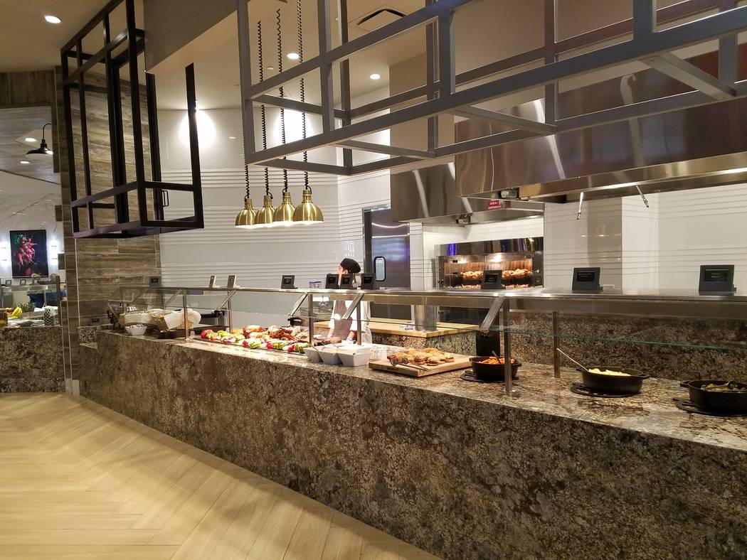 The Carvery at Market Place Buffet (Heidi Knapp Rinella/Las Vegas Review-Journal)