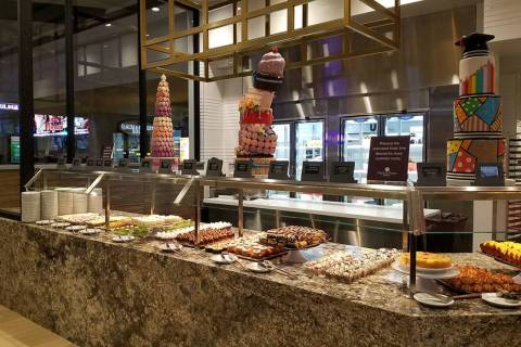 Pastries and desserts at Market Place Buffet (Heidi Knapp Rinella/Las Vegas Review-Journal)