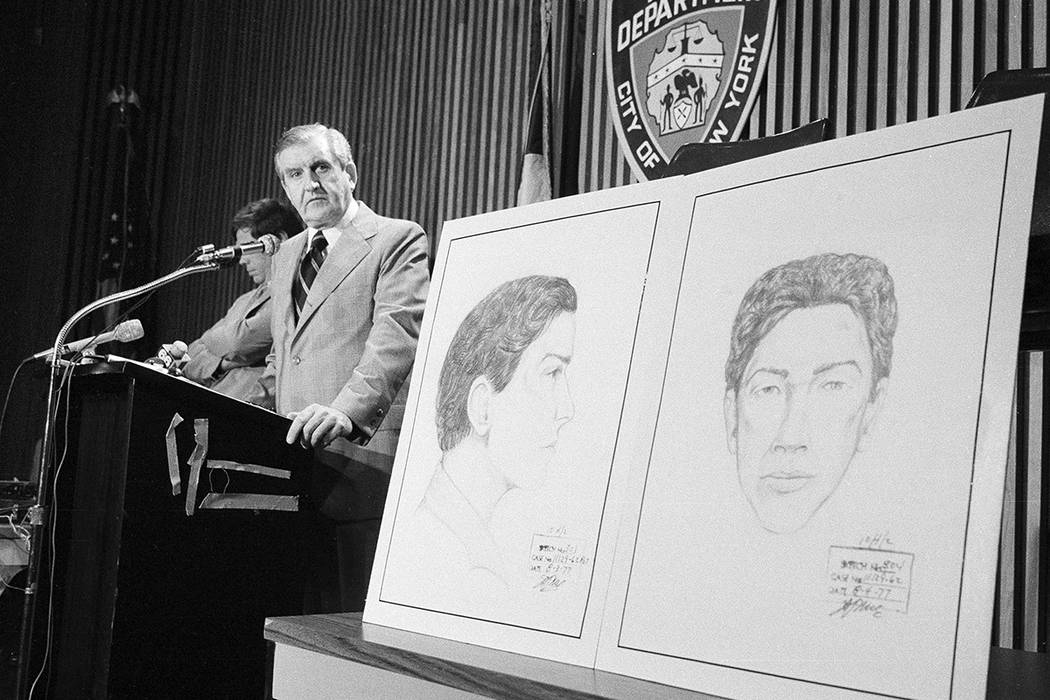 In this Aug. 9, 1977 file photo, John Keenan, chief of detectives, speaks at a press conference ...