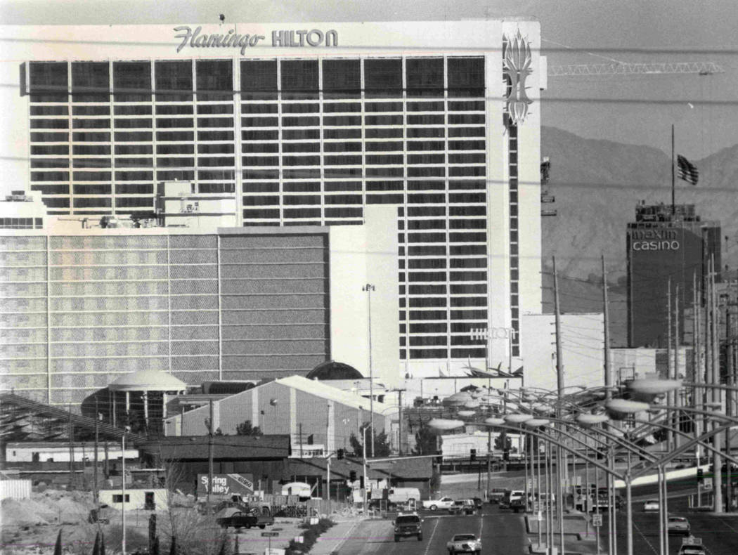 This undated file photo shows Flamingo Hilton Hotel. (File Photo/Las Vegas Review Journal )