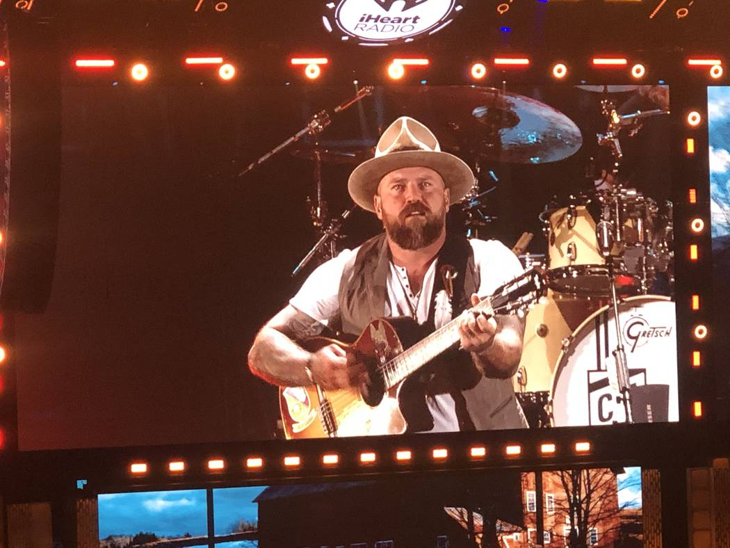 Zac Brown performs at iHeartRadio Music Festival at T-Mobile Arena in Las Vegas, Saturday, Sept ...