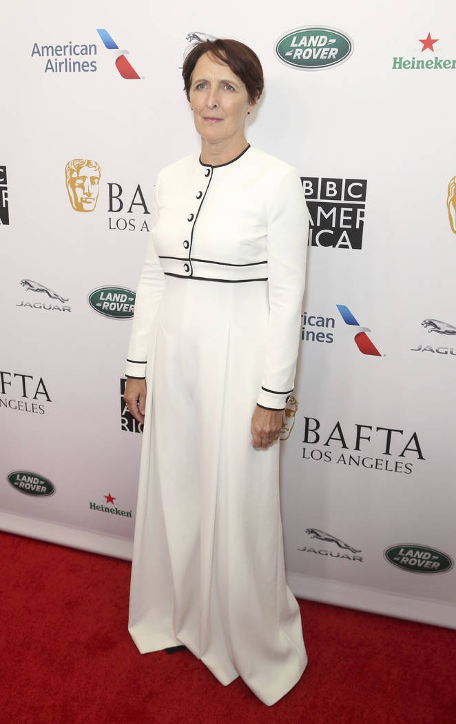 Fiona Shaw arrives at the 2019 Primetime Emmy Awards - BAFTA Los Angeles TV Tea Party at the Be ...